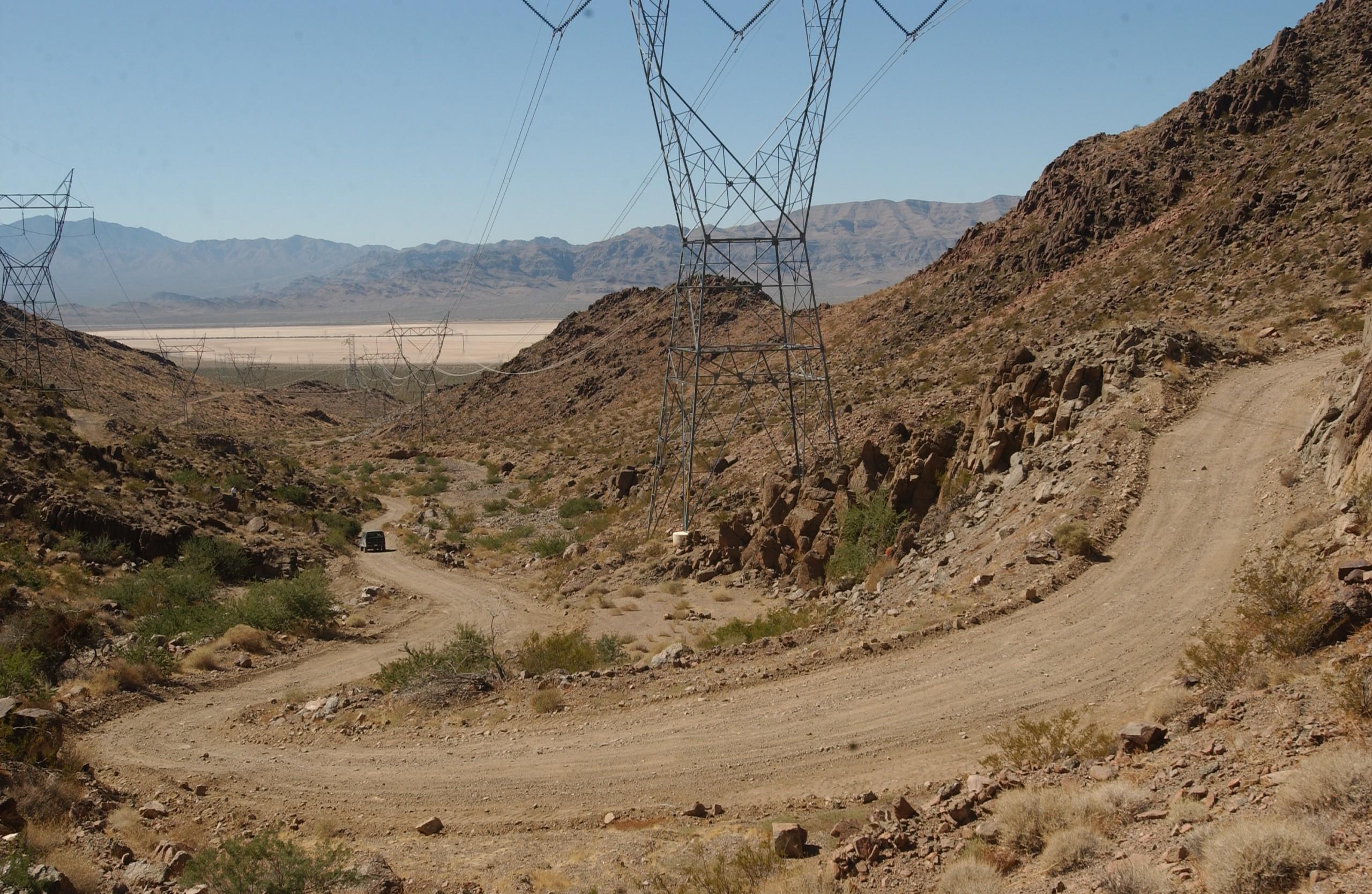 Fragment trasy wyścigu w 2005.