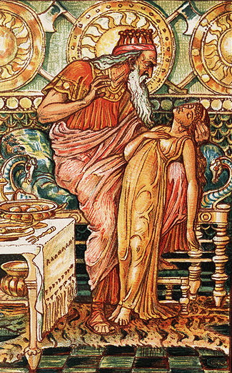 Midas i jego curka