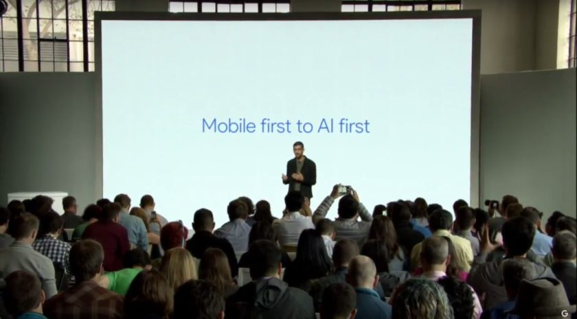 Mobile first to AI first