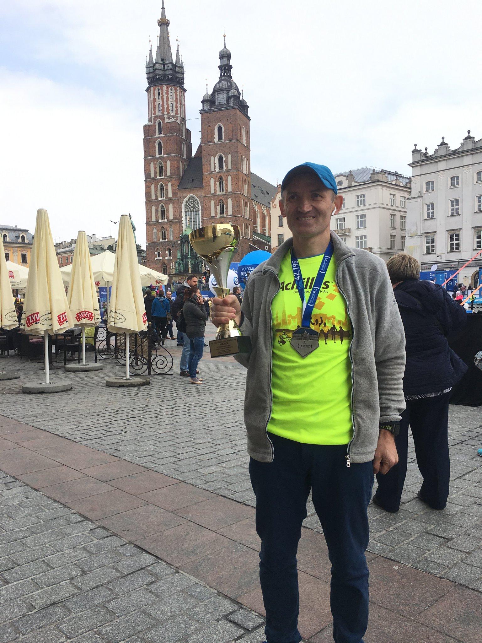 Adam po raz szósty na #CracoviaMaraton z czasem 3:20.04