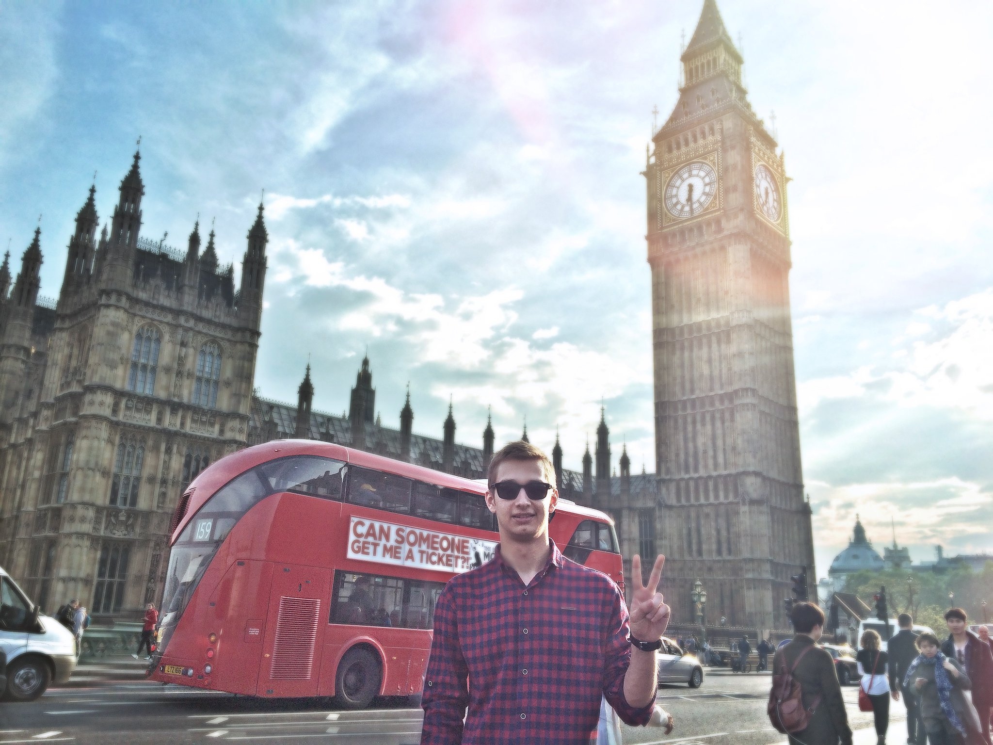 Dima w Londynie
