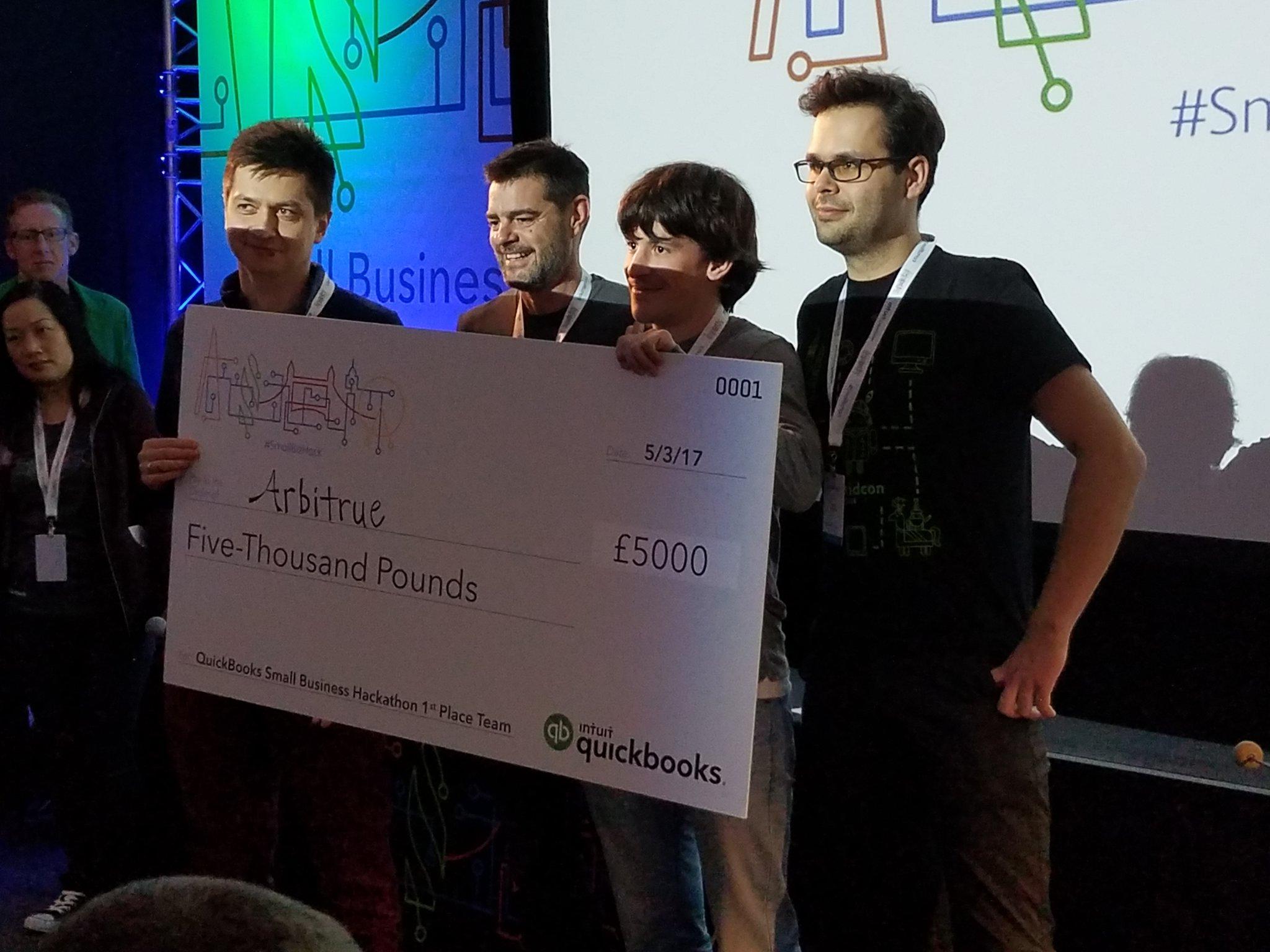 Wygrany hackathon | QuickBooks