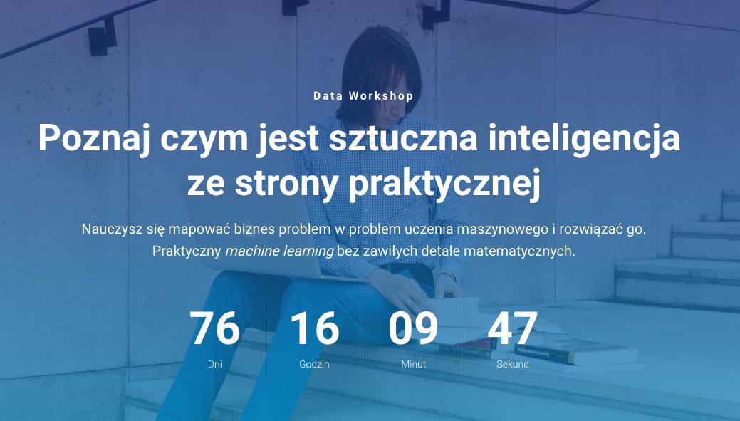 Data Workshop | Poznaj czym jest sztuczna inteligencja zestrony praktycznej