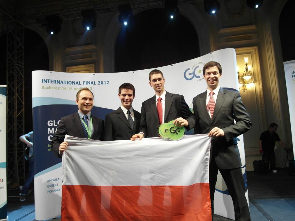 Zespół studencki Piratas del Norte sponsorowany przez Orange Polska – wywalczyła w finale światowym GMC 2012 srebrny medal