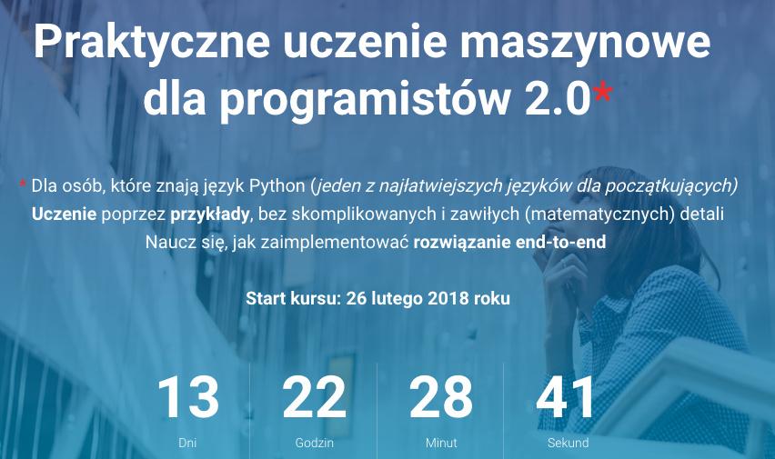 Praktyczne uczenie maszynowe dla programistów 2.0*