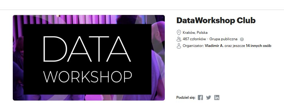 DataWorkshop Club & Fundacja DataWorkshop